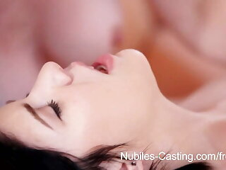 Nubiles Casting - Teen cutie in hot threesome casting call