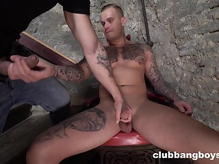 Naked gay lovers are keen for the wildest ass enjoyment from show