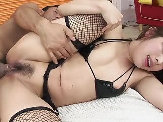 Hairy Asian Cunt Gets Pounded