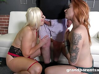 Serious inches be worthwhile for these two sluts pleased to share